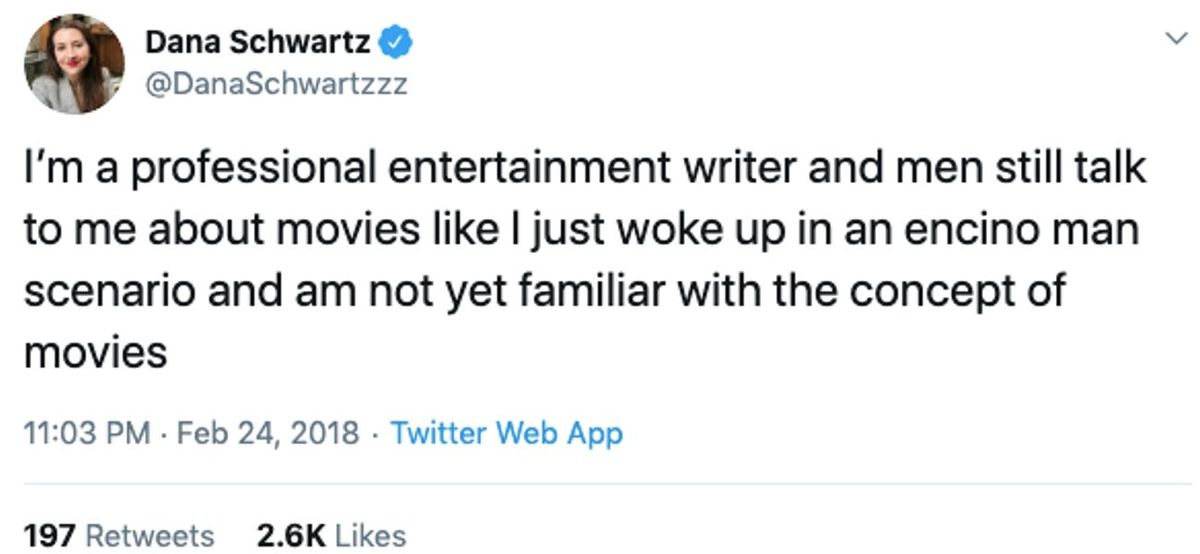 writer movies tweet