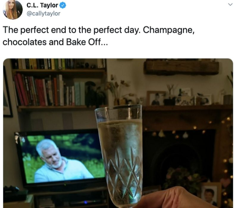 champagne and bake off