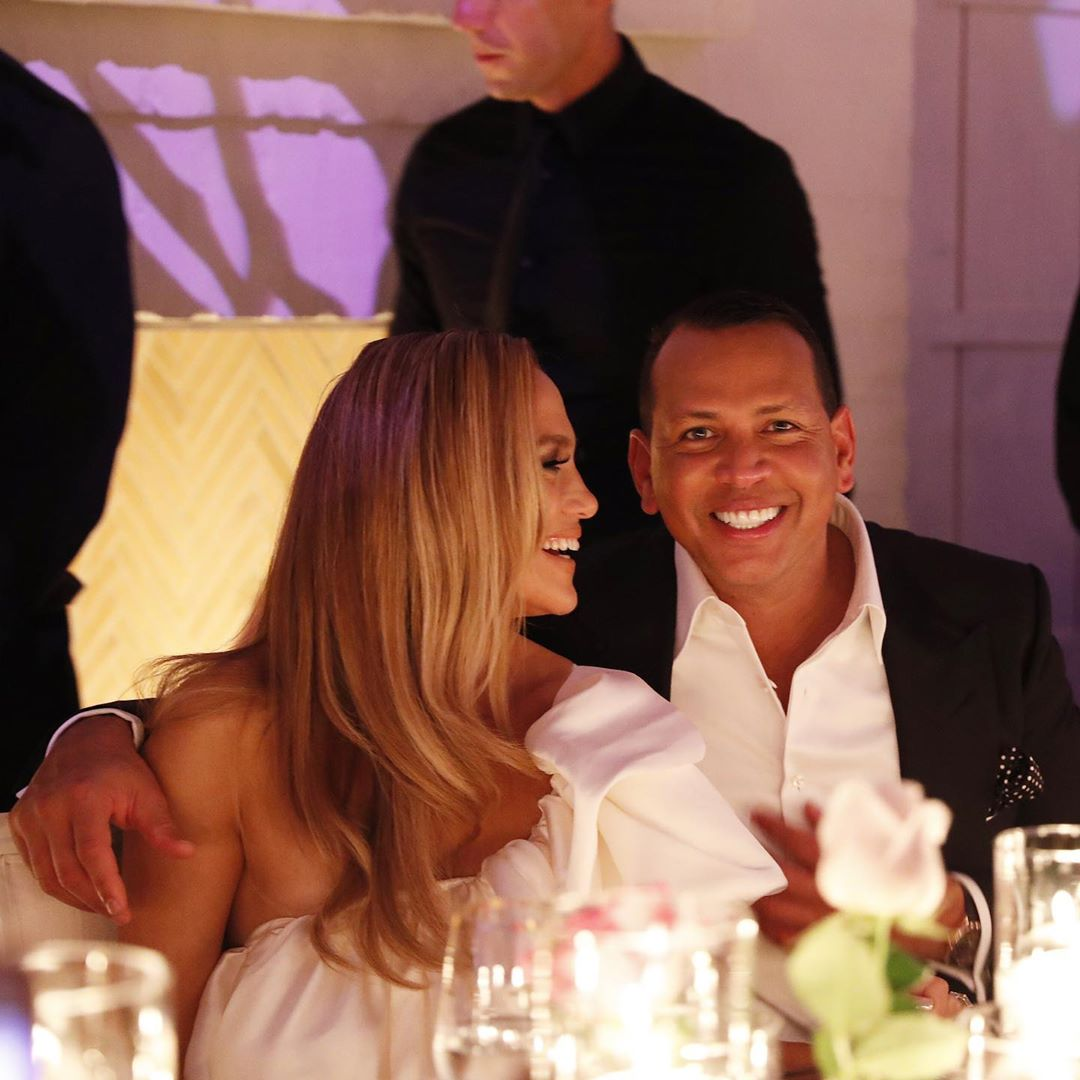 aaron rodriguez and fiance jlo