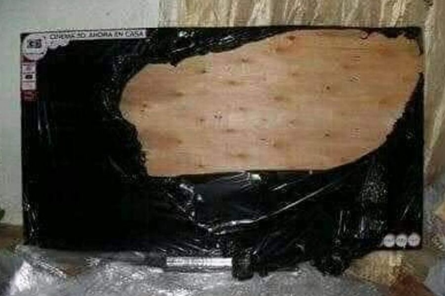 plywood tv