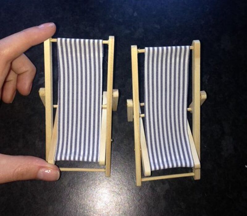 small deck chairs