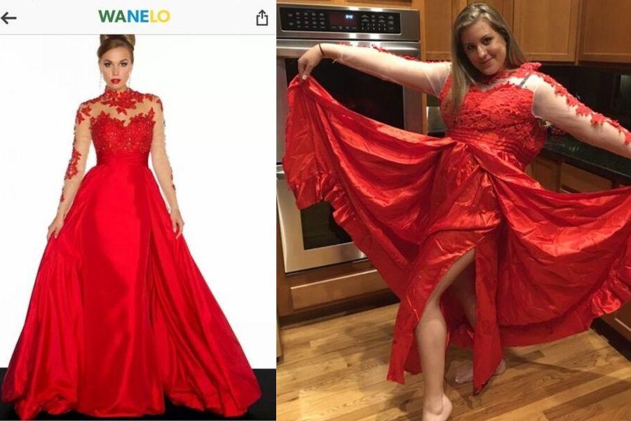 dresses red