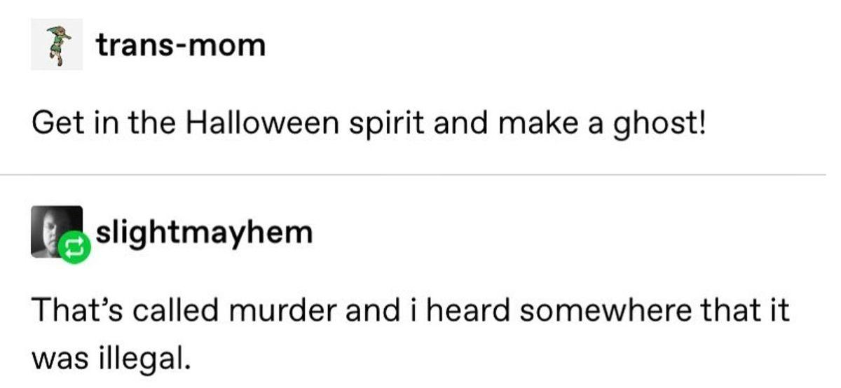 halloween spirit ghost tumblr post
