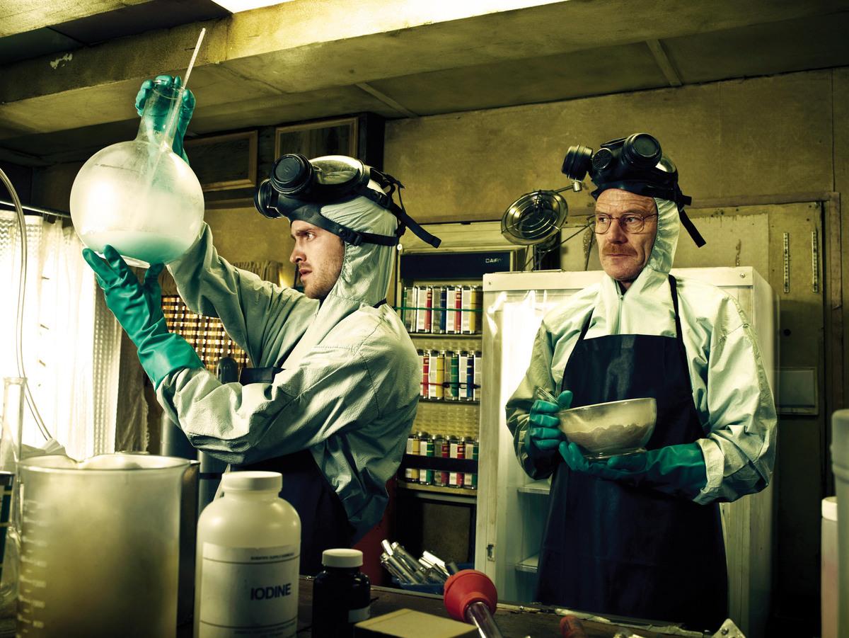 still of lab in Breaking Bad