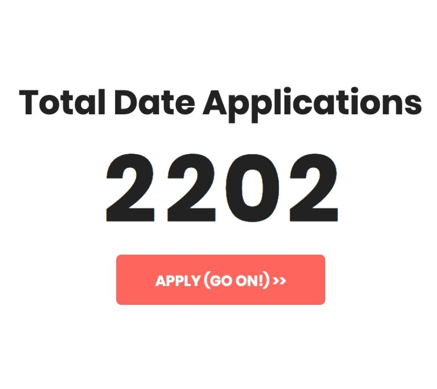 total applications from Mark's website
