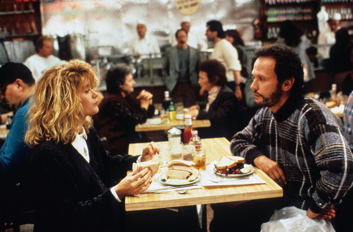 Meg Ryan Billy Crystal when harry met sally