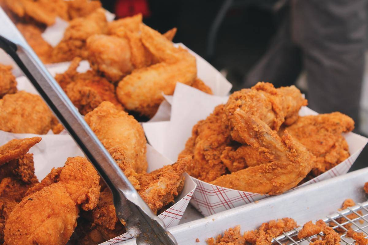 fried chicken basket