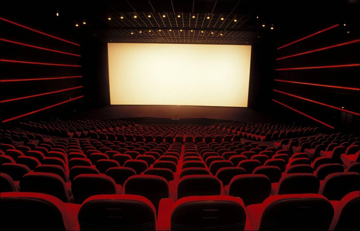 movie theatre with luxurious seats