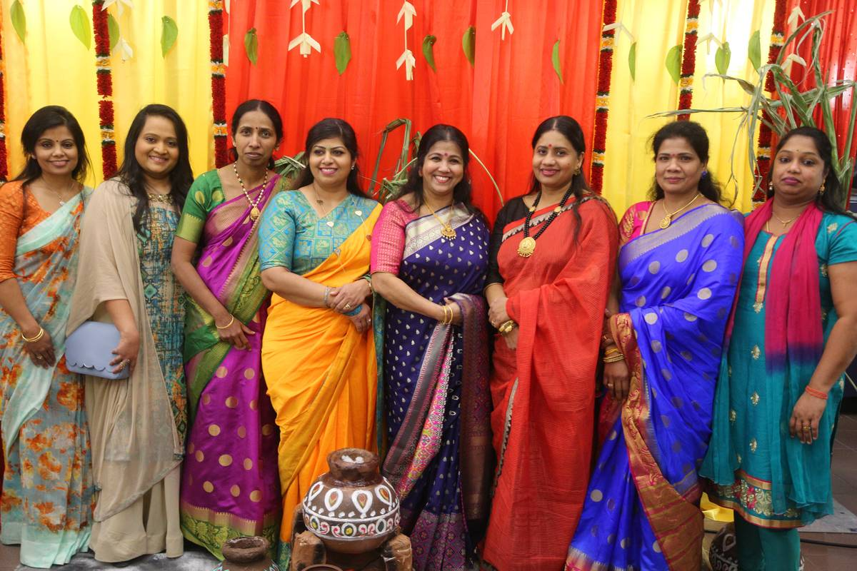 group of indian women in Markham Canada