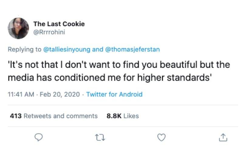 higher standards from society