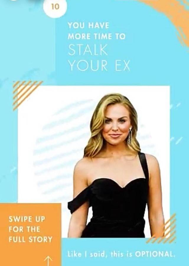 stalk your ex to pass the time while single