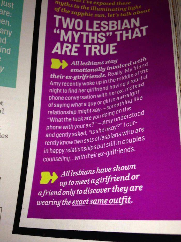 disproving lesbian myths