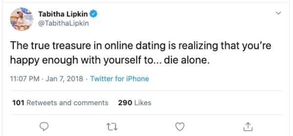 online date or just die alone