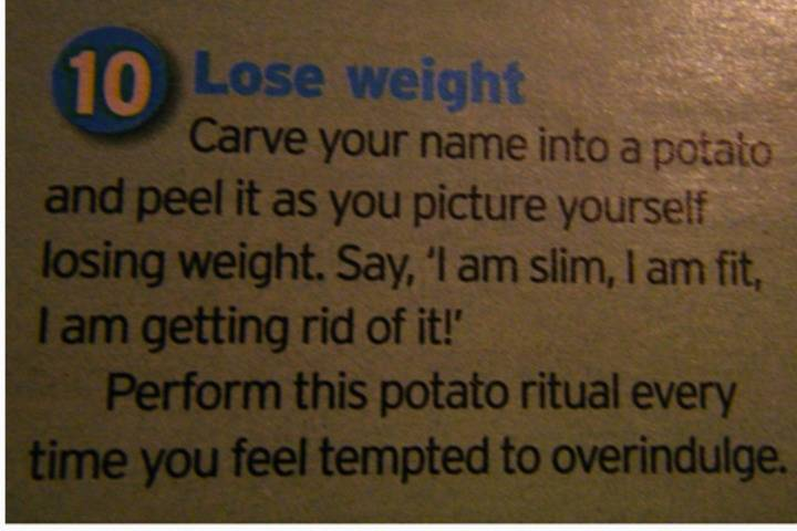 peel potatoes whenever you're tempted