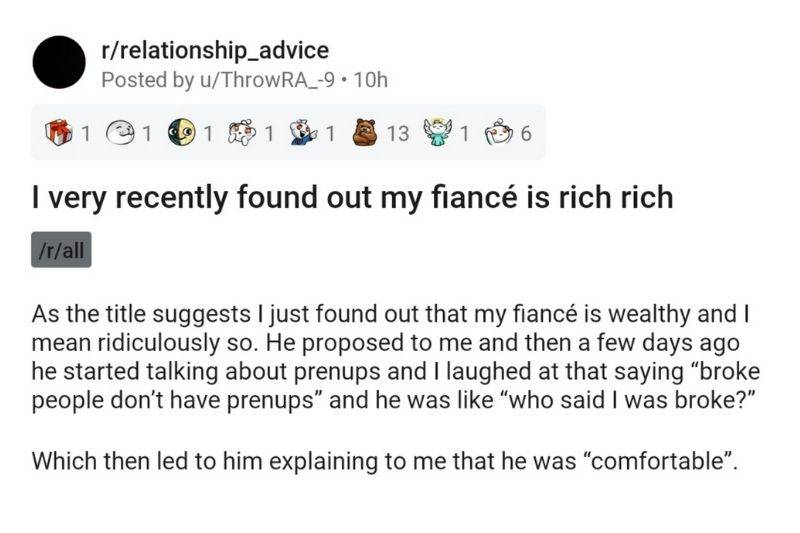 woman explaining that she finds out her fiance is married