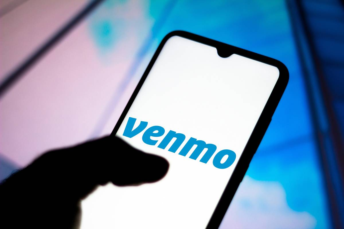 Venmo - Share Payments logo seen displayed on a smartphone