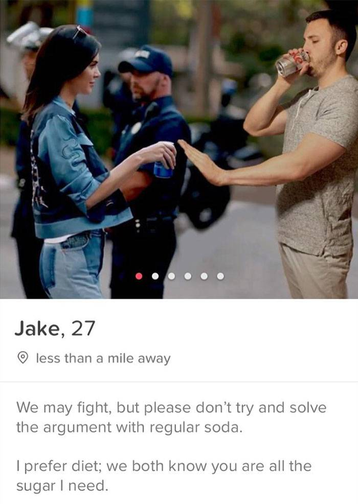 pepsi ad on tinder
