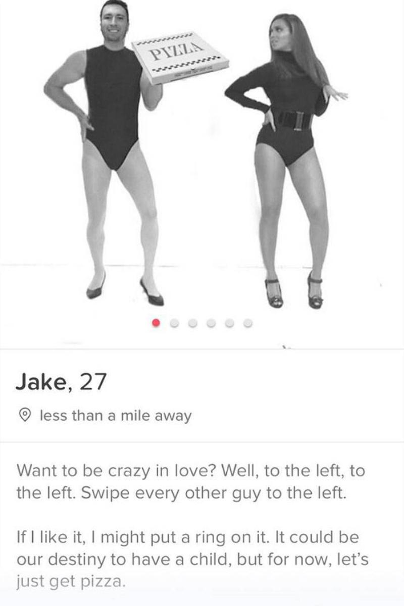 single ladies tinder profile