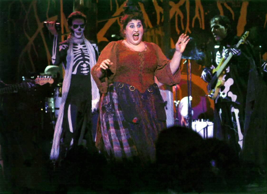 still of mary on stage
