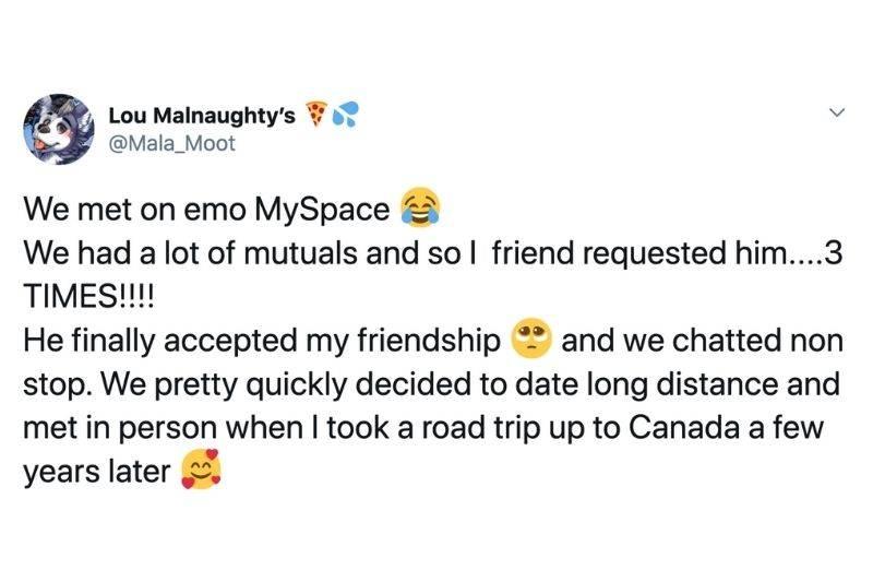 couple met on MySpace