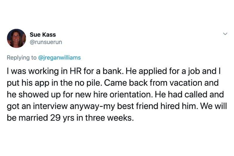 woman got date with someone she didn't hire at a bank