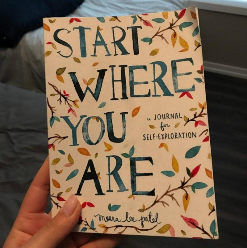 a book called start where you are