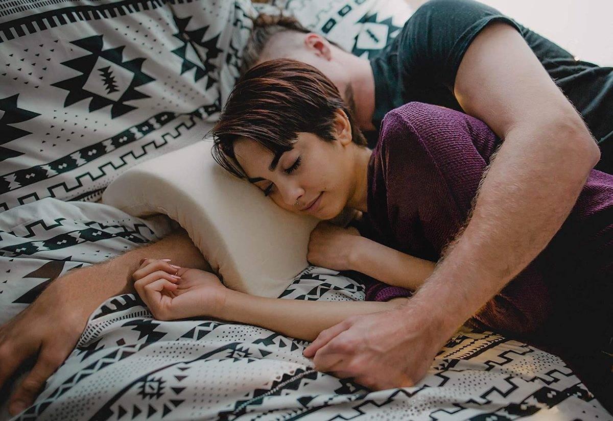 partner cuddling pillow