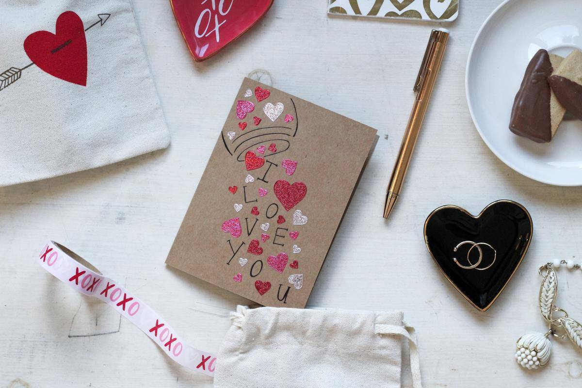 homemade love card