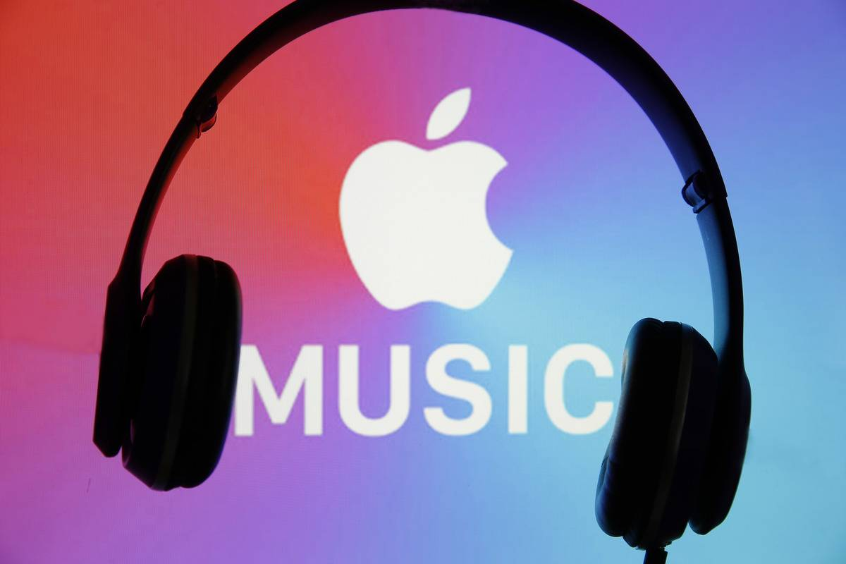 logo of the music streaming platform Apple Music