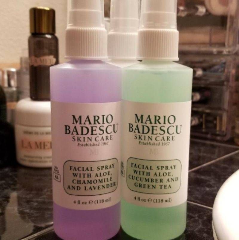 a picture of some skin care spray