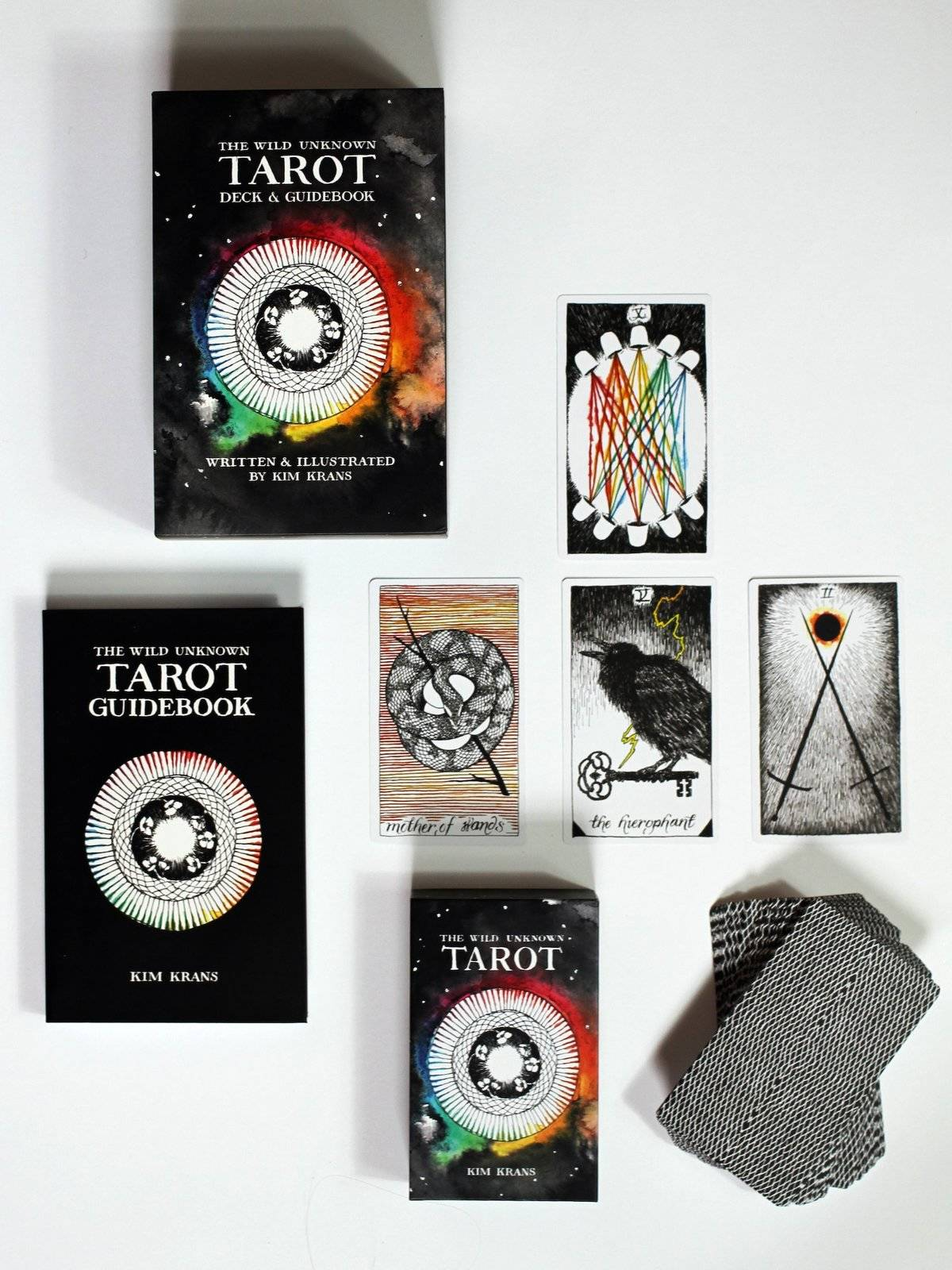 tarot cards ad display
