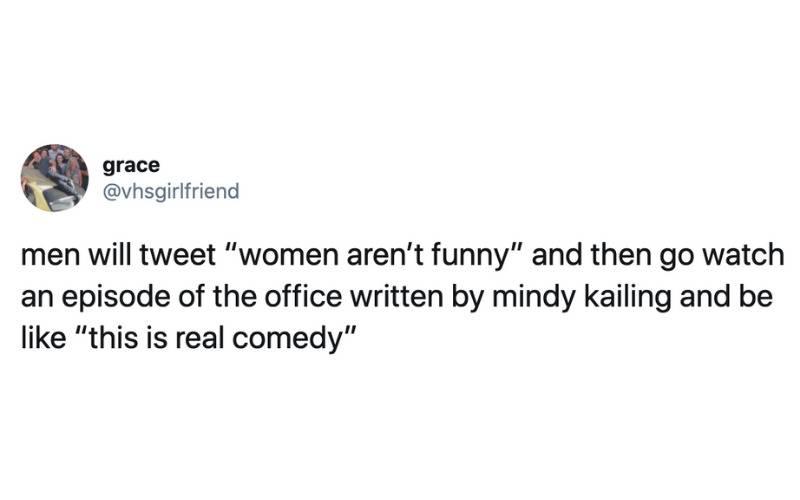 men will tweet