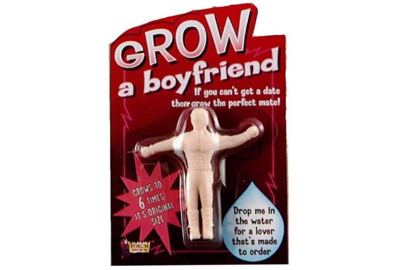grow a boyfriend in a box ad on Amazon