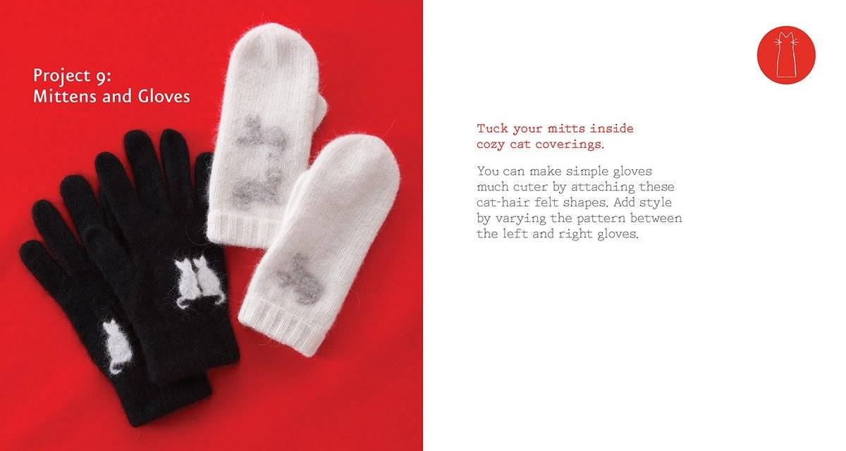 inside the book example of gloves