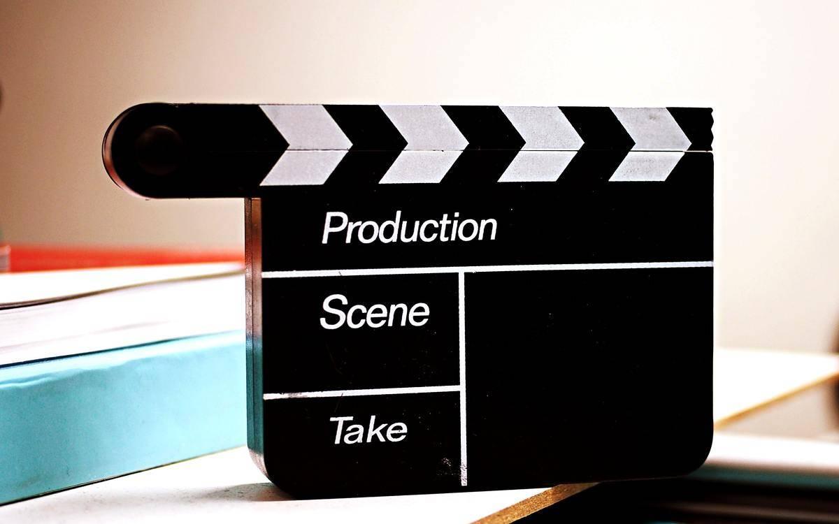 film set clapboard