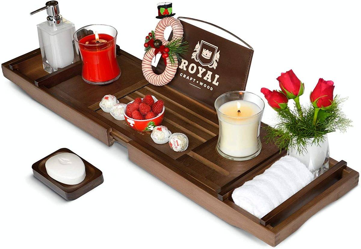 fancy wooden tray design ad