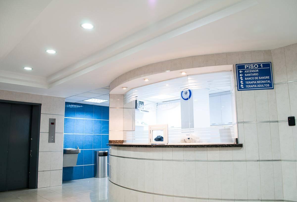 hospital ER front desk