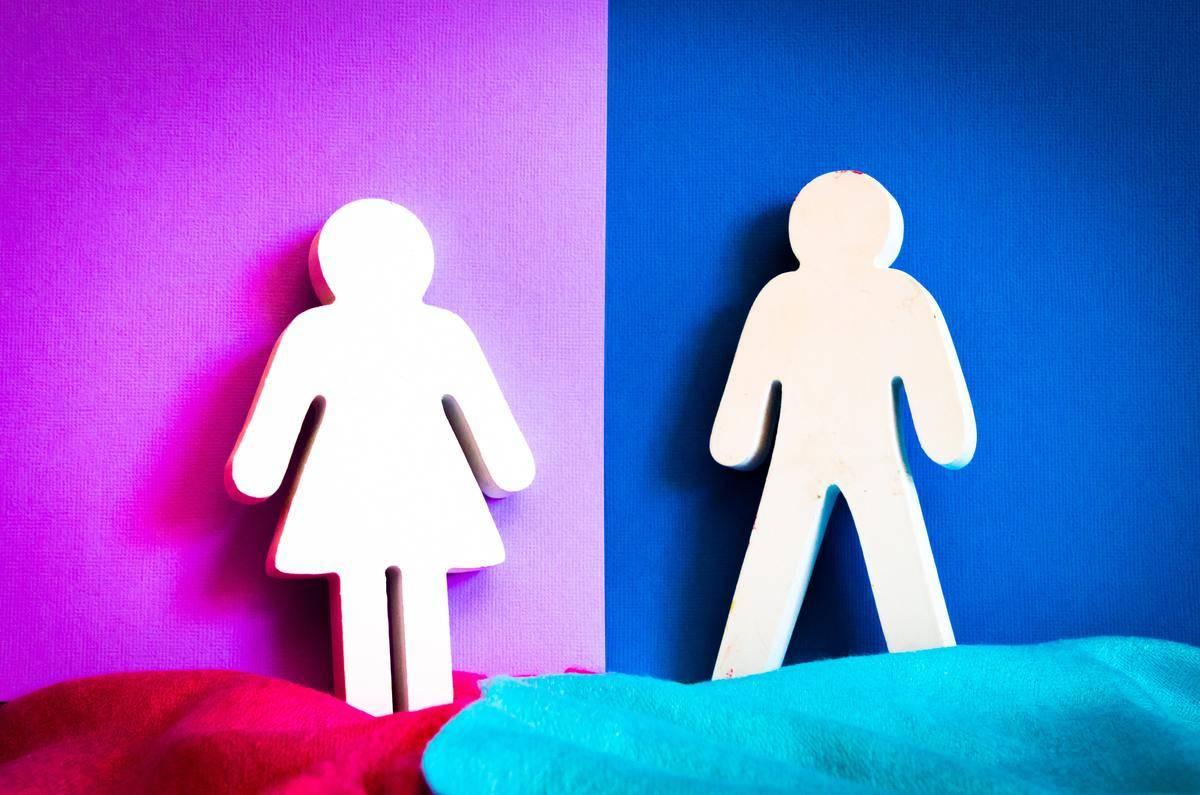 man and woman figurine symbols