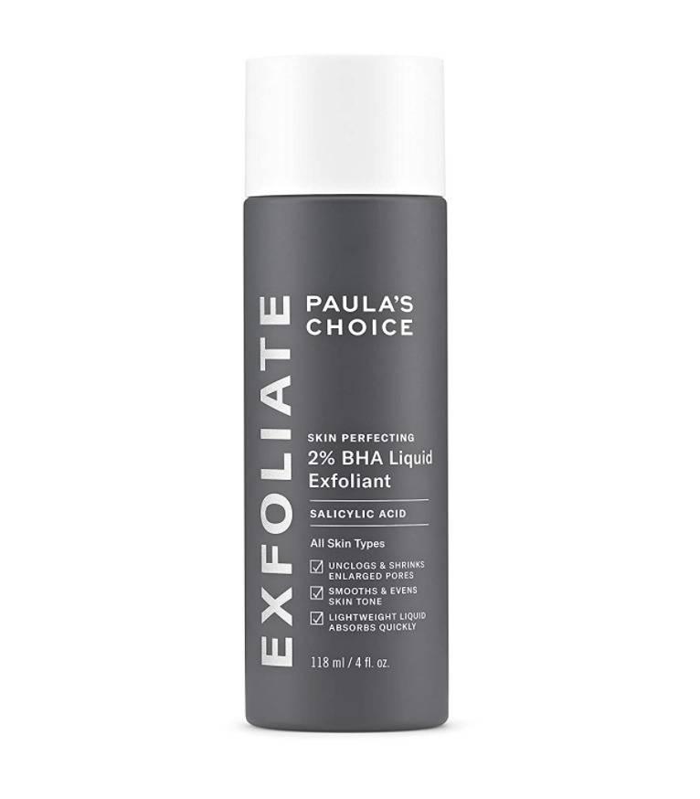 Paula's choice BHA exfoliator