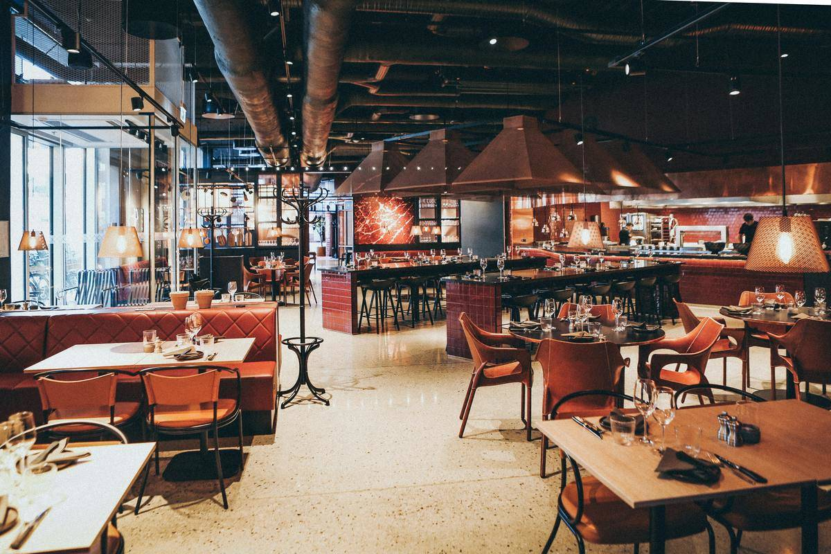 photo of empty restaurant