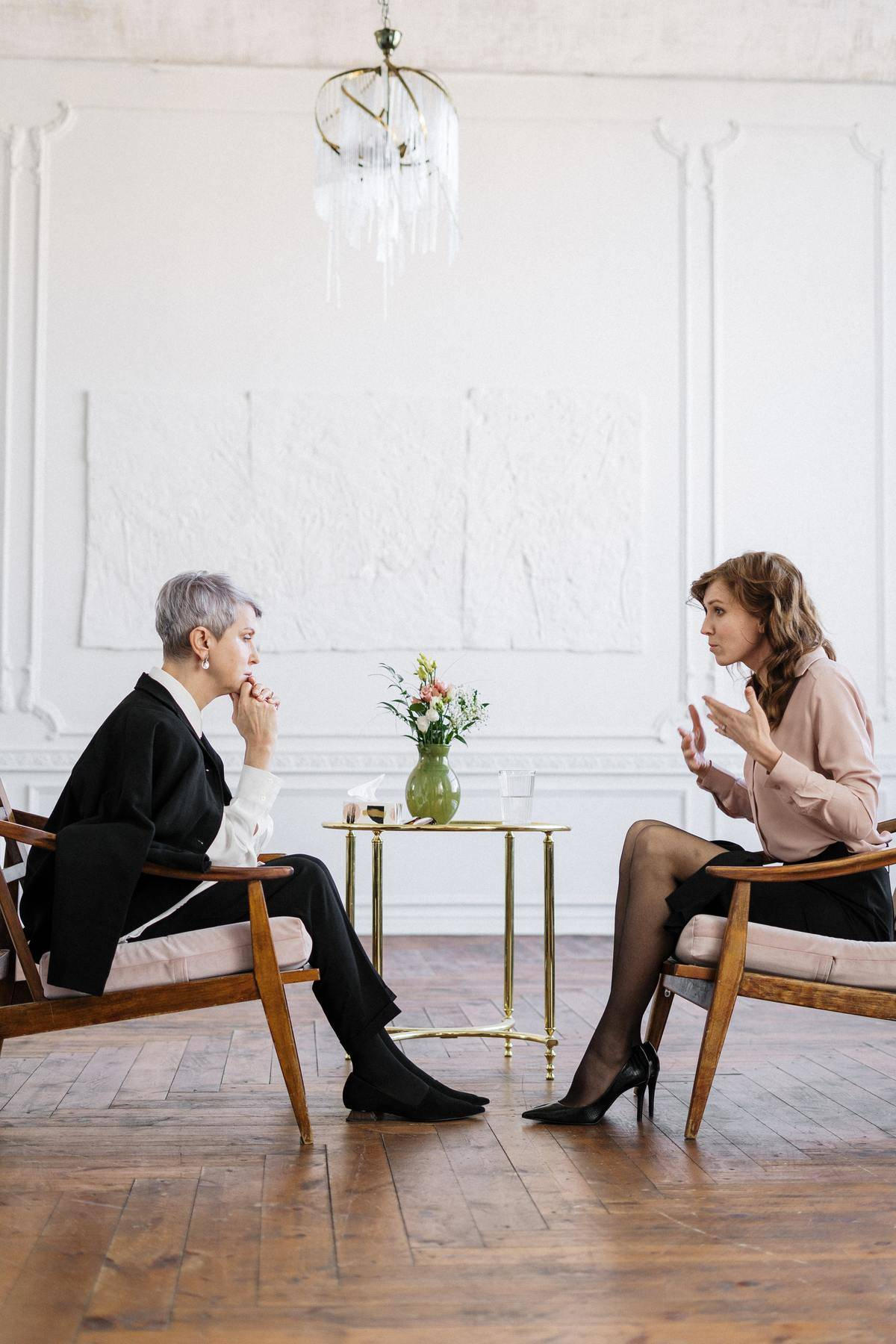 woman in therapy session