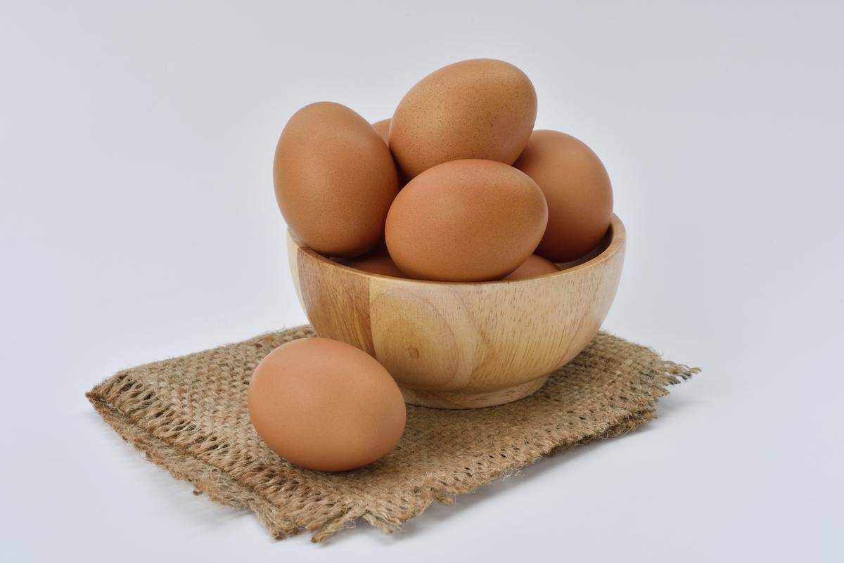 bowl full of eggs