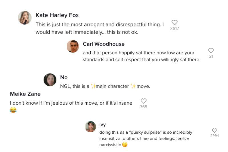 reviews on tiktok about love island dates