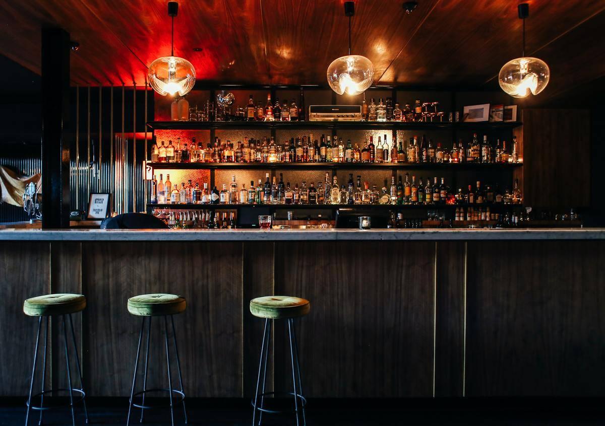 empty nightclub bar