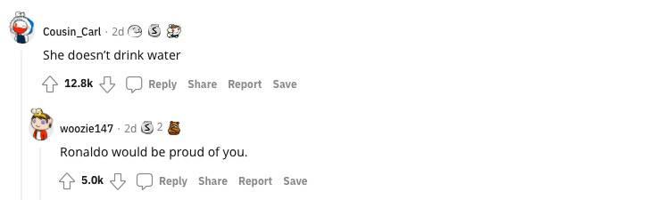 Reddit comments: