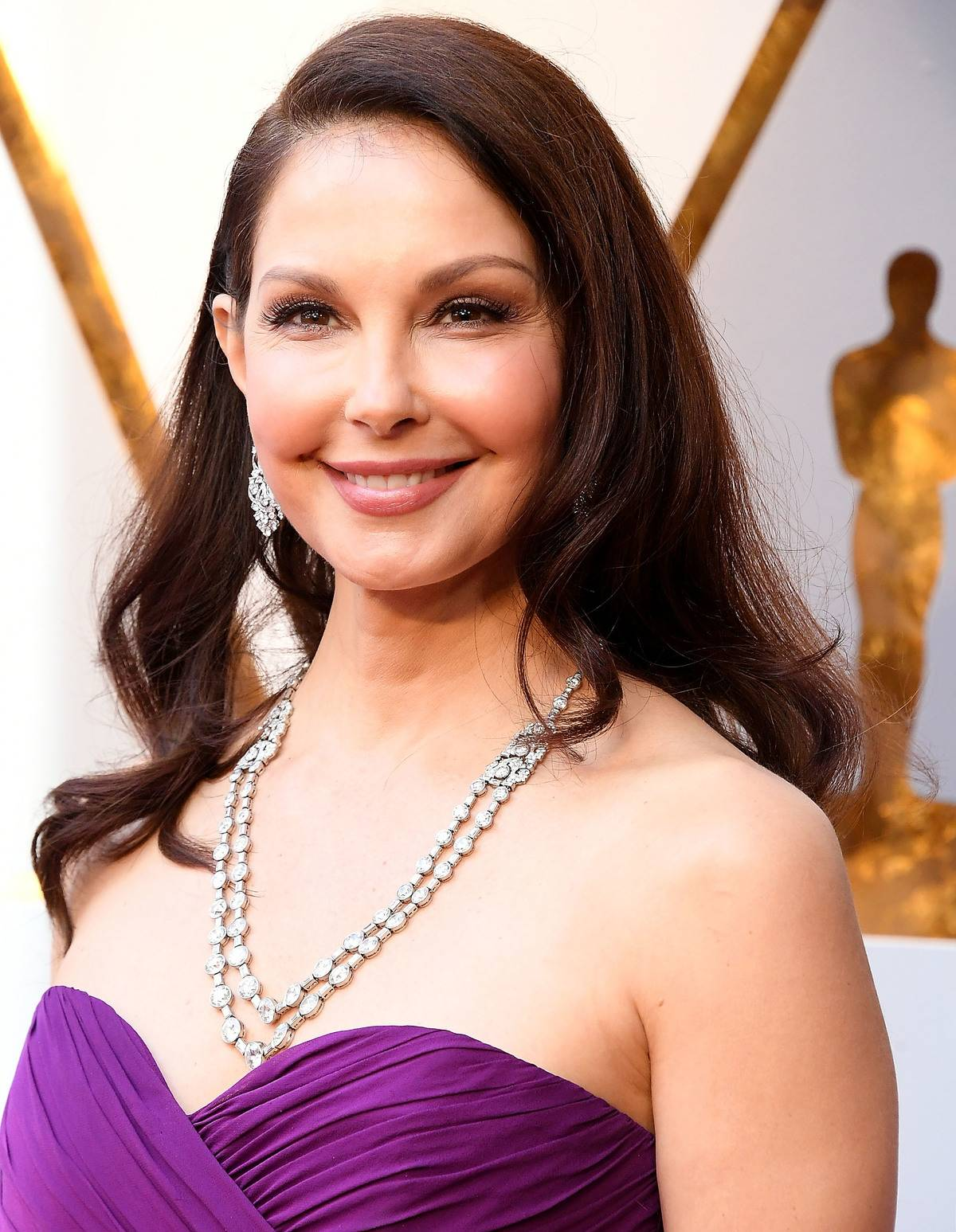 HOLLYWOOD, CA - MARCH 04: Ashley Judd arrives at the 90th Annual Academy Awards at Hollywood & Highland Center on March 4, 2018 in Hollywood, California