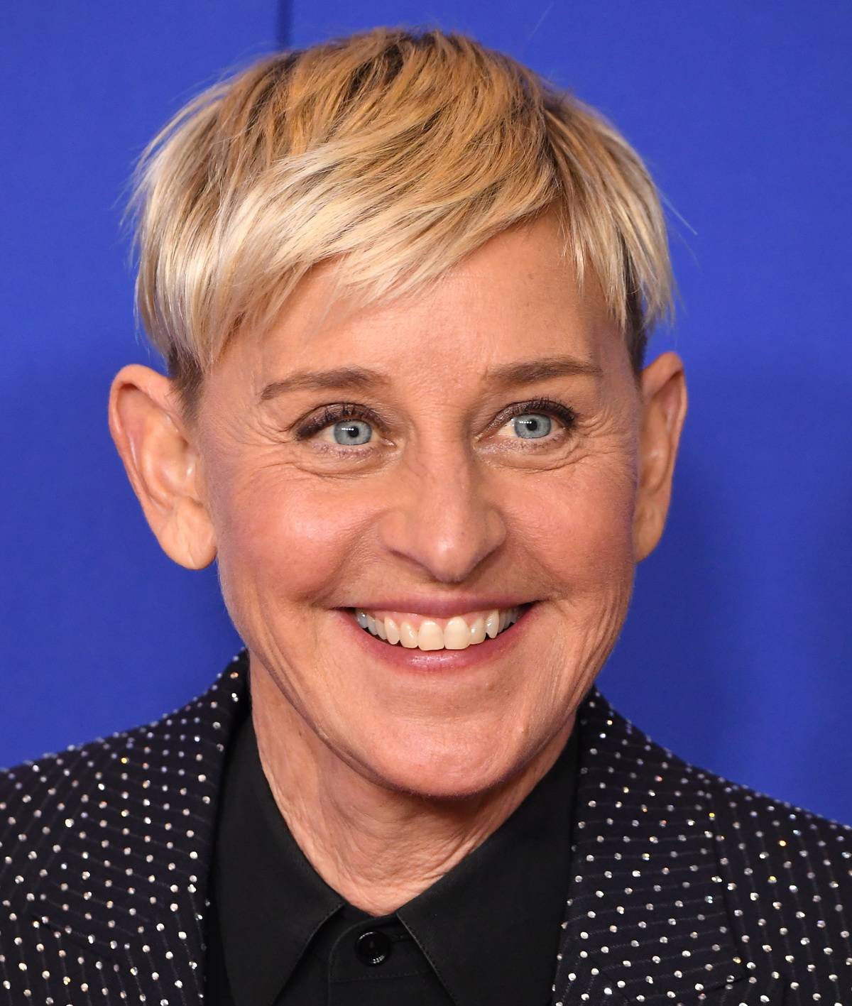 BEVERLY HILLS, CALIFORNIA - JANUARY 05: Ellen Degeneres poses in the press room at the 77th Annual Golden Globe Awards at The Beverly Hilton Hotel on January 05, 2020 in Beverly Hills, California.
