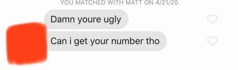 Tinder conversation: