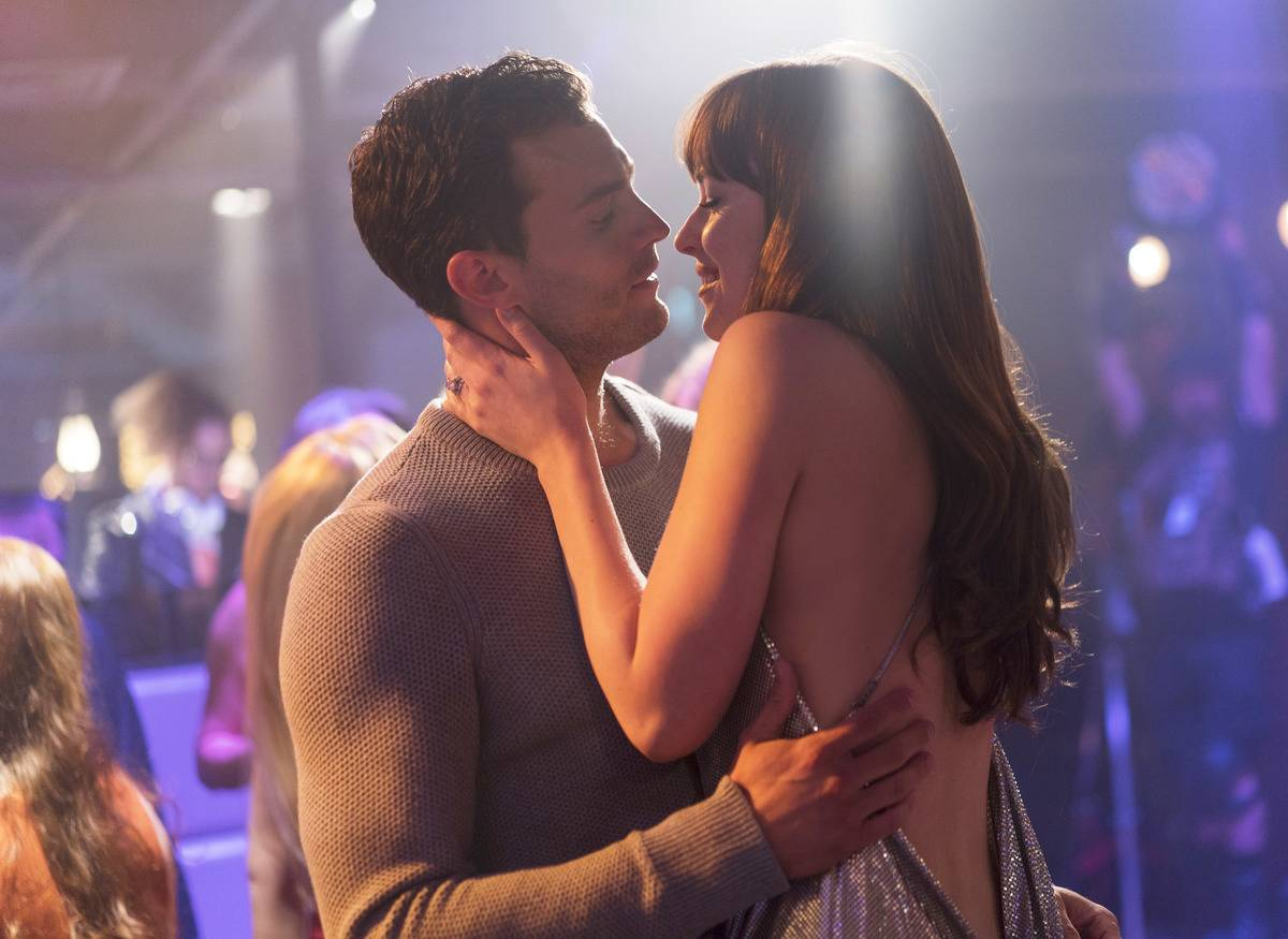 Anna and Christian from 50 Shades Freed