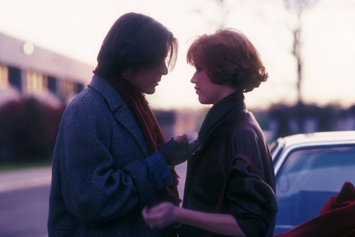 Claire and Bender from the Breakfast Club